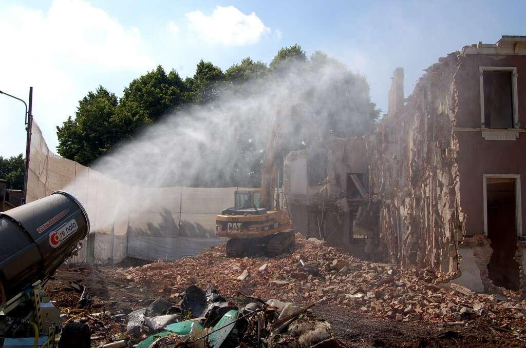 demolizione pavia